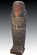 LOT 24: Lifesize Ancient Egyptian Sarcophagus - Complete!