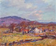 EMILE ALBERT GRUPPE, American (1896-1978), Mount Mansfield, Vermont, oil on canvas