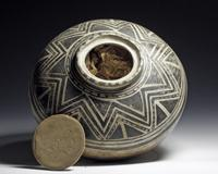 LOT 266: Rare Pre-Historic Anasazi Kiva Jar