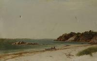 John F.  Kensett - The Beach At Beverly, Ma