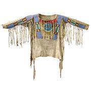 Blackfoot Beaded and Painted Antelope Hide Shirt, c.  1870 (Lot 131, Estimate $125,000-$175,000)