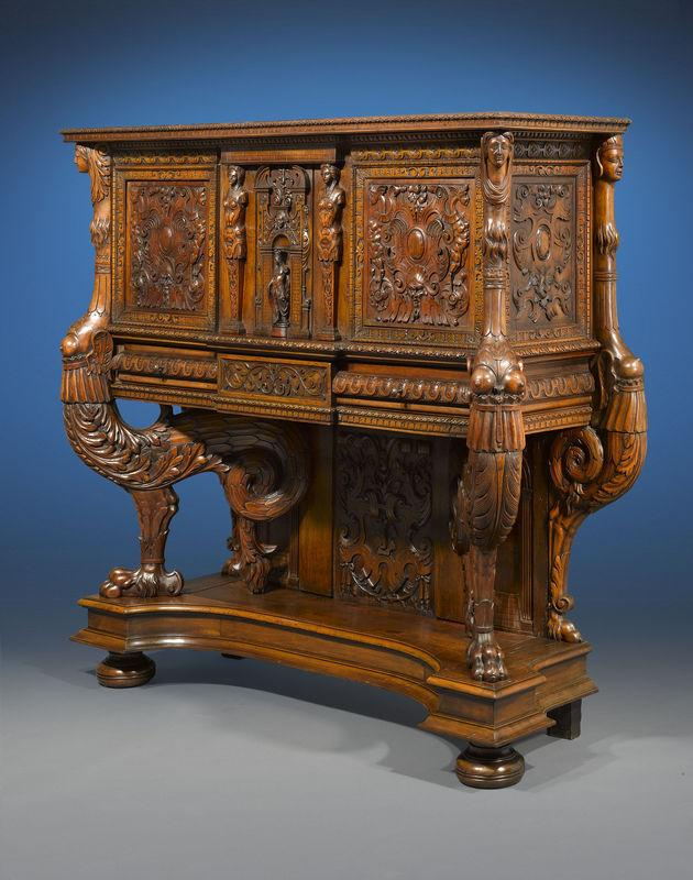 To Find A Piece Of Renaissance Furniture Of This Quality And Condition Is  The Find Of A Lifetime. M.S. Rau Antiques, New Orleans