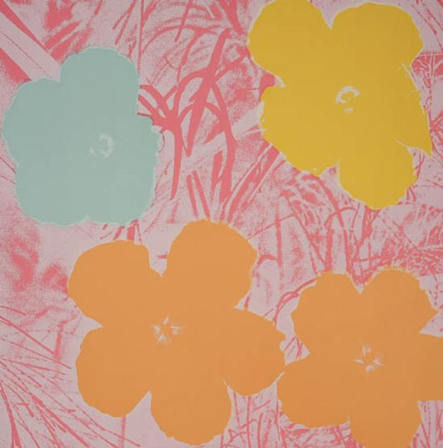 Andy Warhol (American 1928-1987), Flowers, (Estimate: $20,000-$30,000)