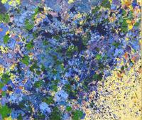 "TING, Walasse.  ""Floating Flowers."" Est.  40/60,000 USD."