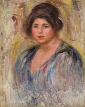 Portrait de Femme (Gabrielle Renard) by Pierre August Renoir