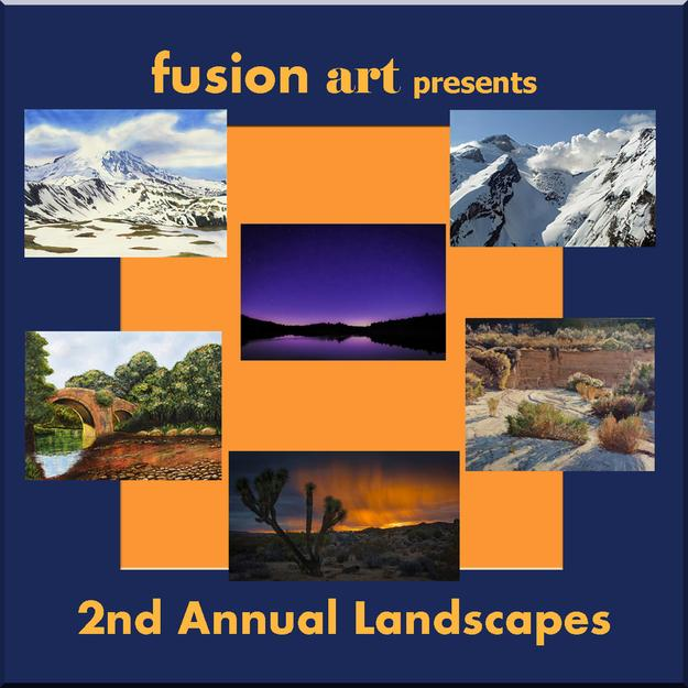 "Fusion Art's 2nd Annual ""Landscapes"" Juried Art Exhibition www.fusionartps.com"