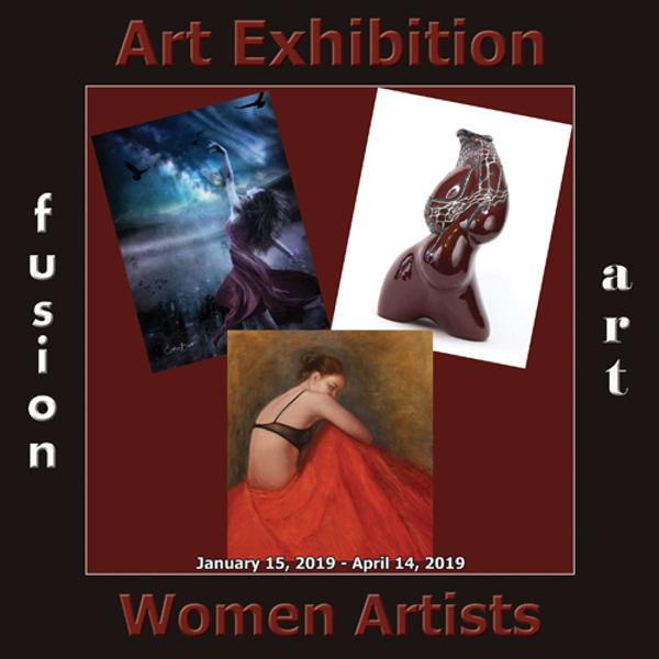 Fusion Art's 2nd Annual Women Artists Art Exhibition www.fusionartps.com