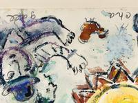 Marc Chagall's compositions are among the most sought-after and respected art works of the 20th century.