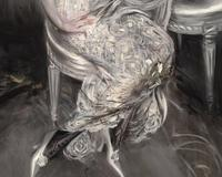 "Boldini's unique brushwork is graceful yet bold.  The technique earned him the title ""The Master of Swish"""