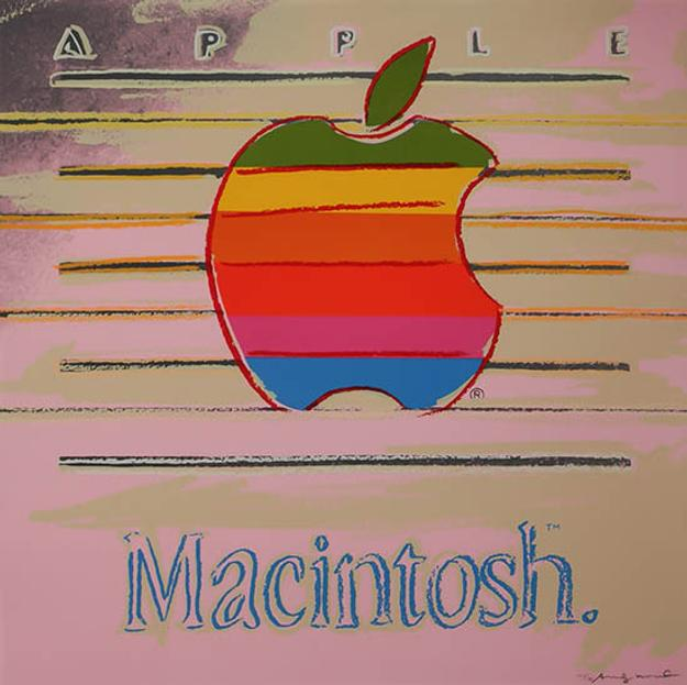 "Andy Warhol, ""Apple"" (from ""Ads""), Estimate: $40,000-$60,000."