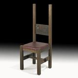 Dard Hunter Unique Hall Chair, $20,000-30,000