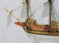 Closeup Rigging Detail - MAYFLOWER Miniature