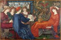 "This masterpiece by Edward Burne-Jones, titled ""Laus Veneris,"" 1873-78, from the collection of Laing Art Gallery, is viewable on the BBC's new Your Paintings website.  It is also currently part of the Victoria & Albert Museum exhibition ""The Cult of Beauty."""