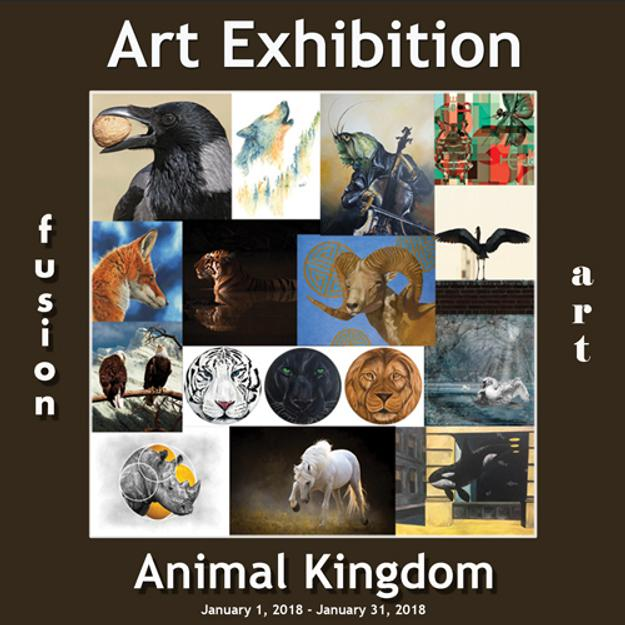 3rd Annual Animal Kingdom Art Exhibition www.fusionartps.com