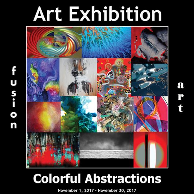 3rd Annual Colorful Abstractions Art Exhibition Winners www.fusionartps.com