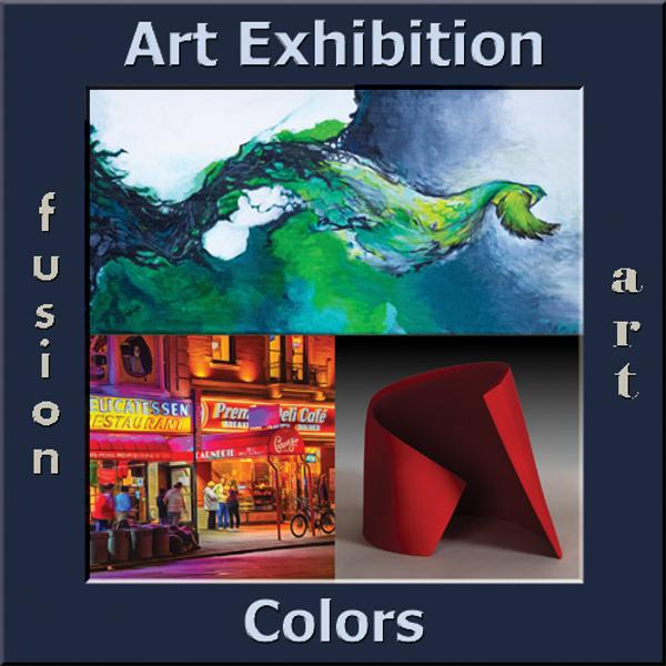 Fusion Art's 3rd Colors Art Exhibition www.fusionartps.com