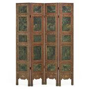 Lot 409, Chinese Nephrite Jade Four Panel Screen, Sold for: $68,750