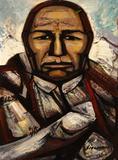 David Alfaro Siqueiros (Mexican 1896-1974), El Trabajador Piedra, pyroxiline on panel $40,000 - $60,000