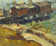 """Shore Scene"", Maurice G.  Logan, Estimate: $30,000-50,000"
