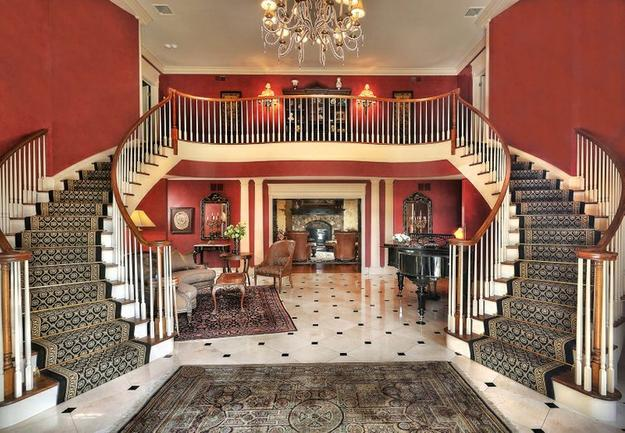 Entry foyer, Far Hills New Jersey residence