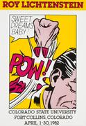 "Lot 147: ROY LICHTENSTEIN, American (1923-1977), ""Sweet Dreams Baby!"""
