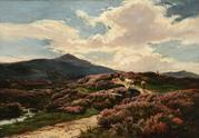 Sidney Richard Percy (1821-1886) On the Perthshire Moors