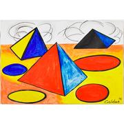 Lot 552, Alexander Calder, Nuages, sold for $75,000