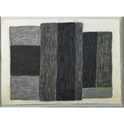 Lot 602, Sean Scully (American/Irish, b.  1945), Untitled, 1985, Oil, pastel and charcoal on paper (framed), $20,000-30,000