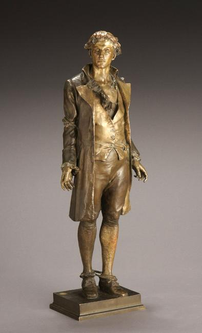 Frederick William MacMonnies (1863-1937), Nathan Hale, bronze ($80,000-$120,000)
