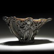 694, Chinese Rhinocerous Horn Libation cup, $35,000-55,000