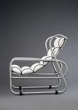 Designed by Warren McArthur Jr.  (1885-1961), Manufactured by Warren McArthur Corp., Rome, NY Sling Seat Lounge Chair, c.  1935