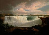 Alvan Fisher, The Great Horseshoe Fall, Niagara, 1820, oil on canvas, Smithsonian American Art Museum, Museum purchase