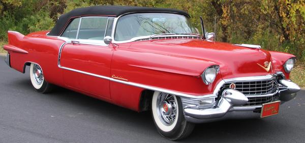 "This show-winning 1955 Cadillac Eldorado ($75/125,000) was once driven by Mick Jagger into New York and across the Brooklyn Bridge to announce his band's ""Bridges to Babylon"" tour.  It will cross the block Nov.  16."