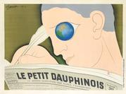 Leonetto Cappiello, Le Petit Dauphinois, 1933.  Estimate $30,000 to $40,000.