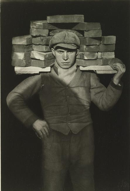 August Sander (German, (1876 –1964), Bricklayer, 1928