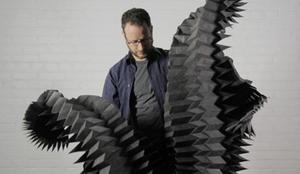 Panelist Matthew Shlian is an artist/designer and founder of the Initiative Artist Studio in Ann Arbor, Michigan.