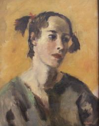Alexander Brook, Rosalie Hook (Mrs.  Robert Gwathmey), 1940