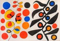 Alexandre Calder, Composition, gouache on paper