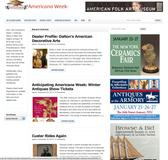 AmericanaWeek.com homepage