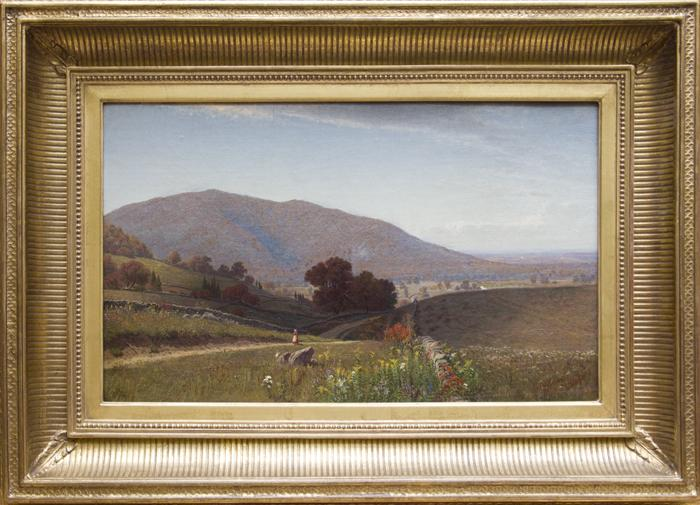 "Frank Anderson (1844-1891)--""Mount Beacon, Fishkill, New York""--Oil on Canvas--12 x 20 in."