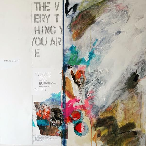 Ann Knickerbocker, The Very Thing You Are, mixed media