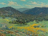 Granville Redmond (American, 1871-1935) Spring in Southern California, 1931 signed 'Granville Redmond' (lower right) and signed, titled and dated 'Spring in So.  California / Granville Redmond / March 1931 oil on canvas 30 x 40in overall: 35 x 45in Est.  $400,000-600,000