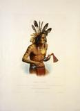 Karl Bodmer (1809 – 1893).  Mato-Tope, ca.  1833.  Buffalo Bill Historical Center, Cody, Wyoming, USA.  Gift of Clara S.  Peck.  21.69.14
