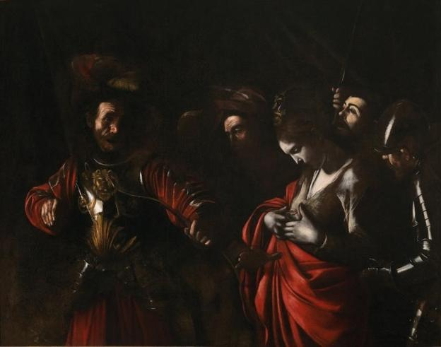 Caravaggio (Michelangelo Merisi) (Italian, Milan or Caravaggio 1571-1610 Porto Ercole).  The Martyrdom of Saint Ursula, 1610.  Oil on canvas.  Intesa Sanpaolo Collection, Palazzo Zevallos Stigliano, Naples
