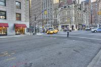 View of Madison Avenue.