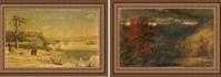 Rediscovered Cropsey paintings to be offered in Clarke Auction's Fine Art, Antique, & Midcentury Modern Auction on May 15th.