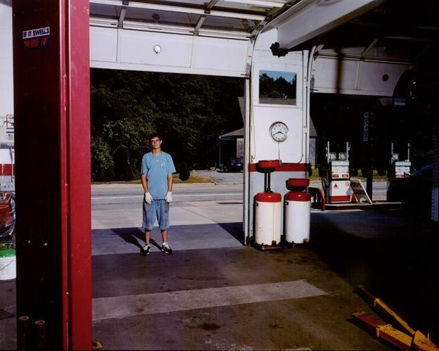 Tina Barney (American, b.  1945), The Garage, 2005, chromogenic color print, Museum purchase with funds from the James Art Acquisition Fund, 2014.6