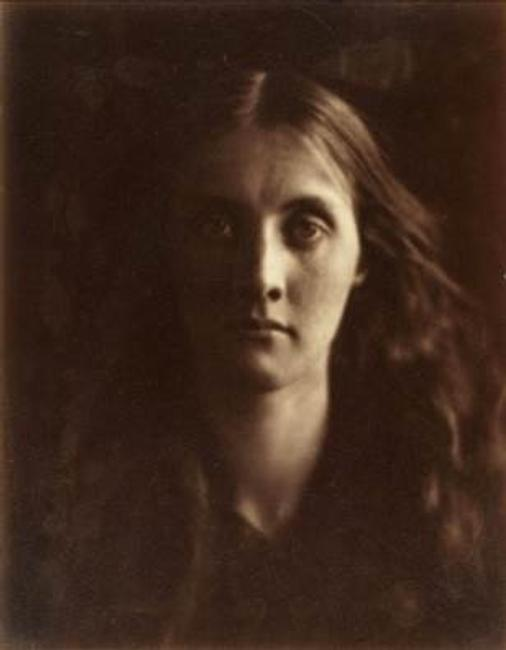 Julia Jackson, 1867, Julia Margaret Cameron (British, 1815-1879), Albumen print from wet collodion negative; 26.4 x 20.8 cm.  The Cleveland Museum of Art
