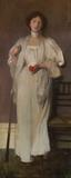 James Jebusa Shannon, Spot Red, 1896.  Oil on canvas, 49 1/2 x 20 1/4 in.
