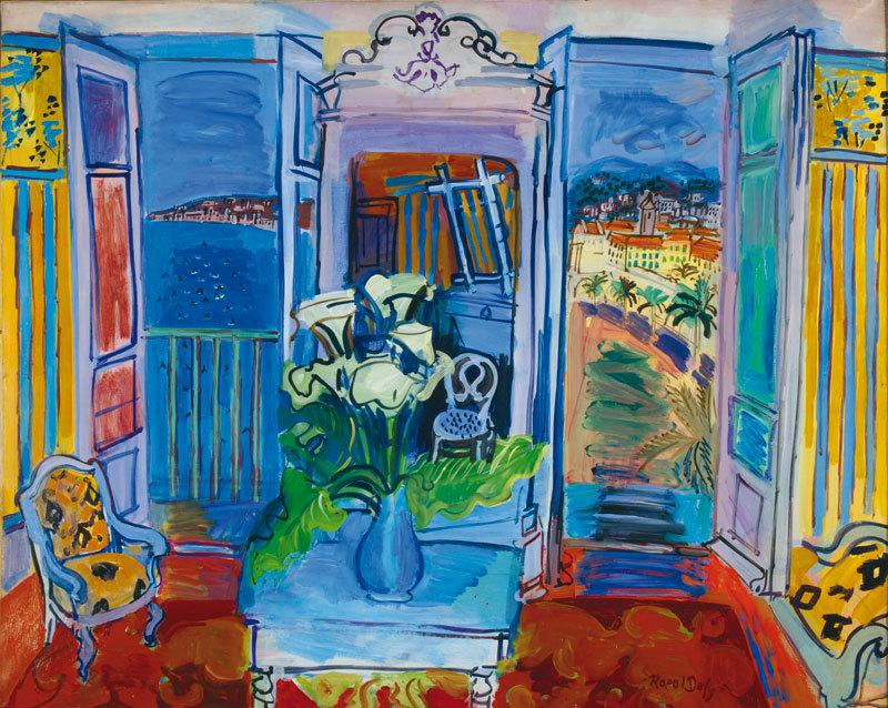 Raoul and jean dufy at the mus e marmottan monet gene for Fenetre ouverte